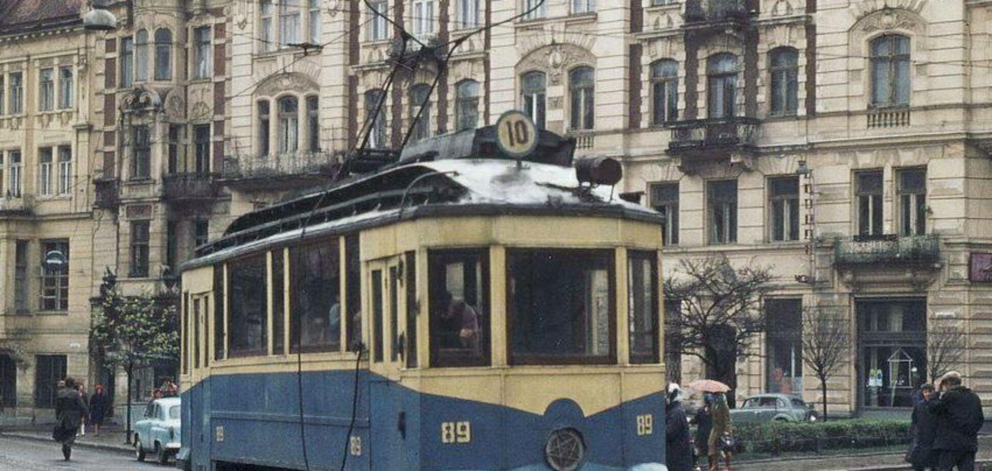 Типовий львівський трамвай