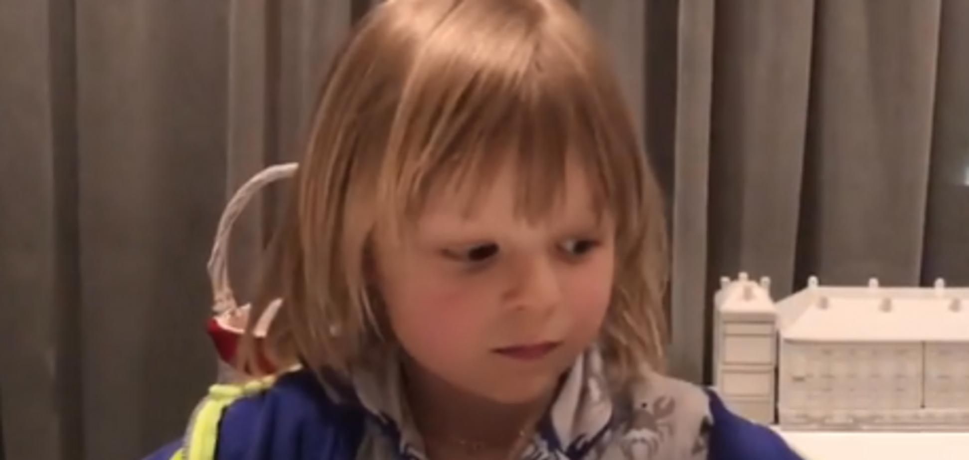 'Меня никто не спасет': 5-летний сын Рудковской рассказал о насилии в семье