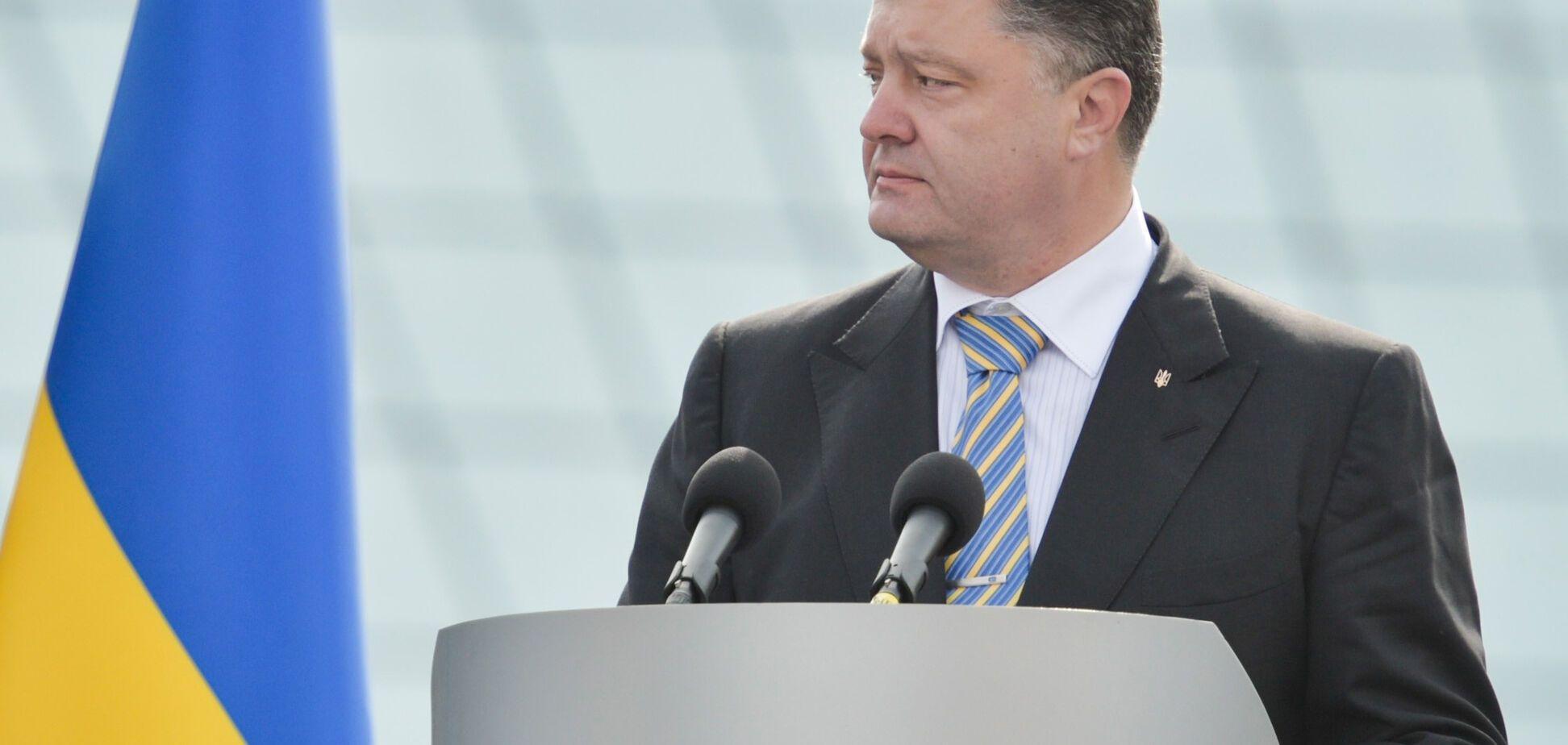 Порошенко назвал рецепт действенного противоядия от федерализации Украины