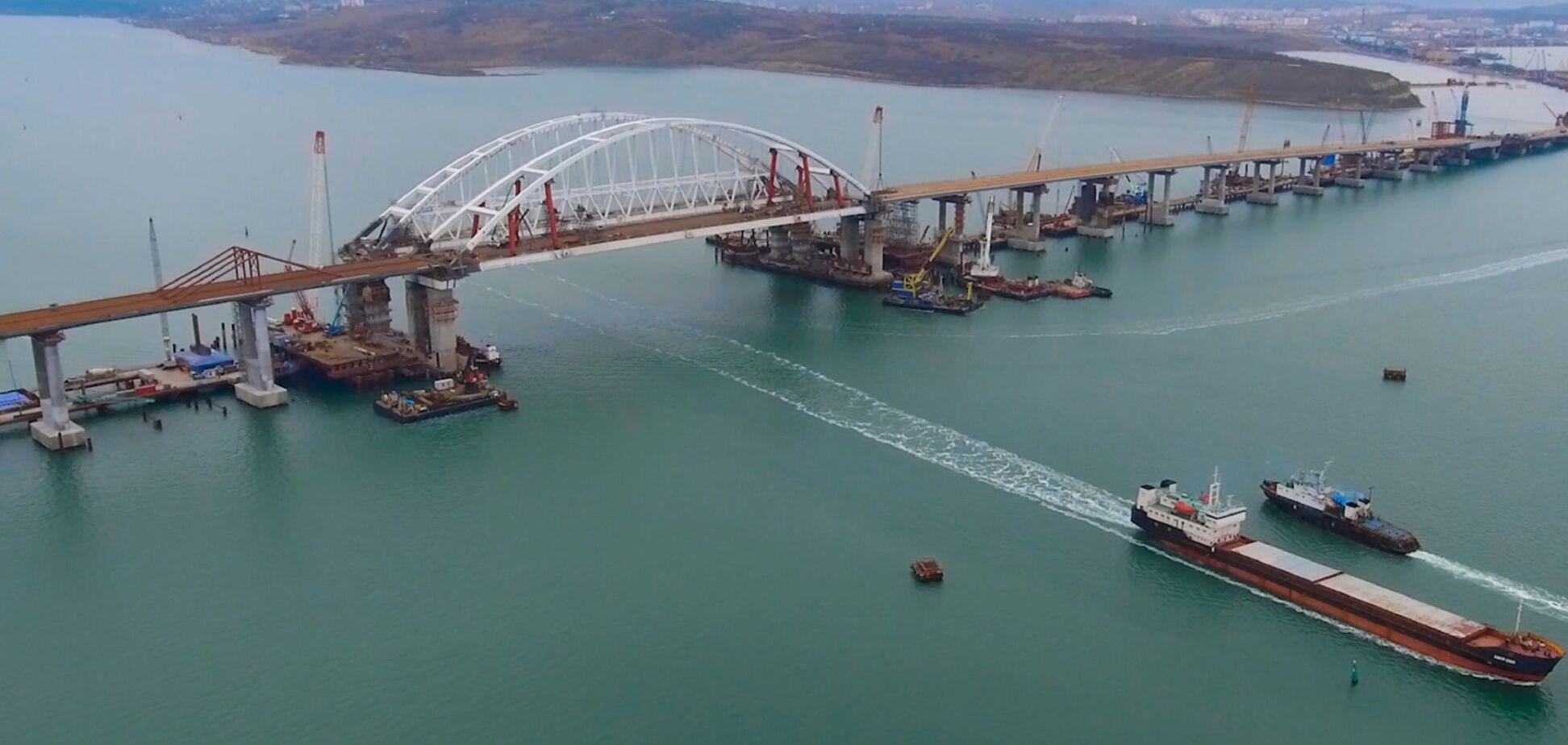 'Будем атаковать': Крымский мост разозлил ОУН