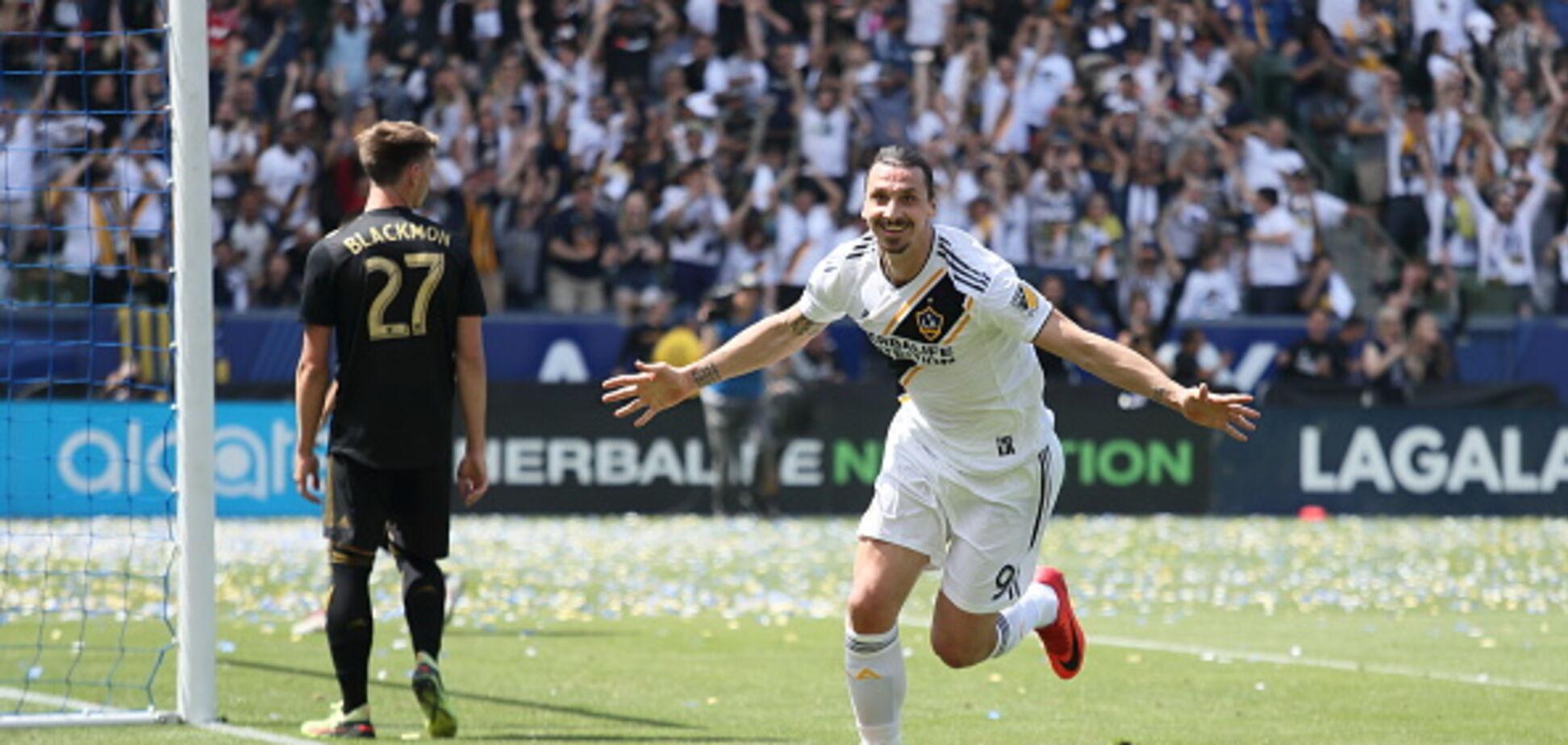Ибрагимович опозорился в матче MLS