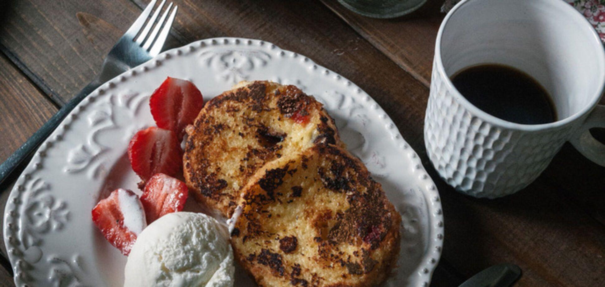 Рецепт дня. Французские тосты из черствой пасхи