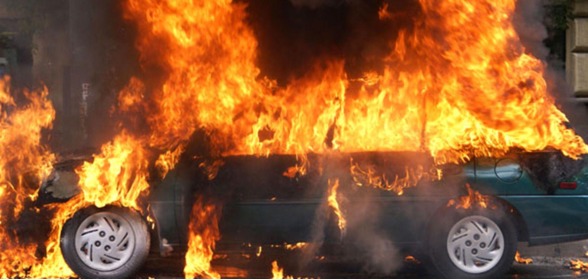 згоріла машина