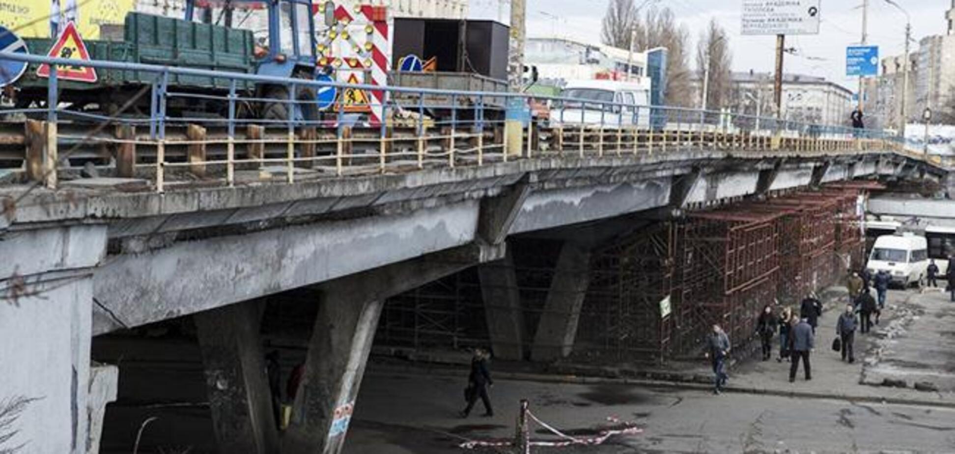 В Киеве начинается реконструкция Шулявского моста: что нужно знать