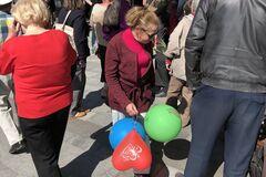 На мітинг в Харкові вийшли прихильники 'ХНР'