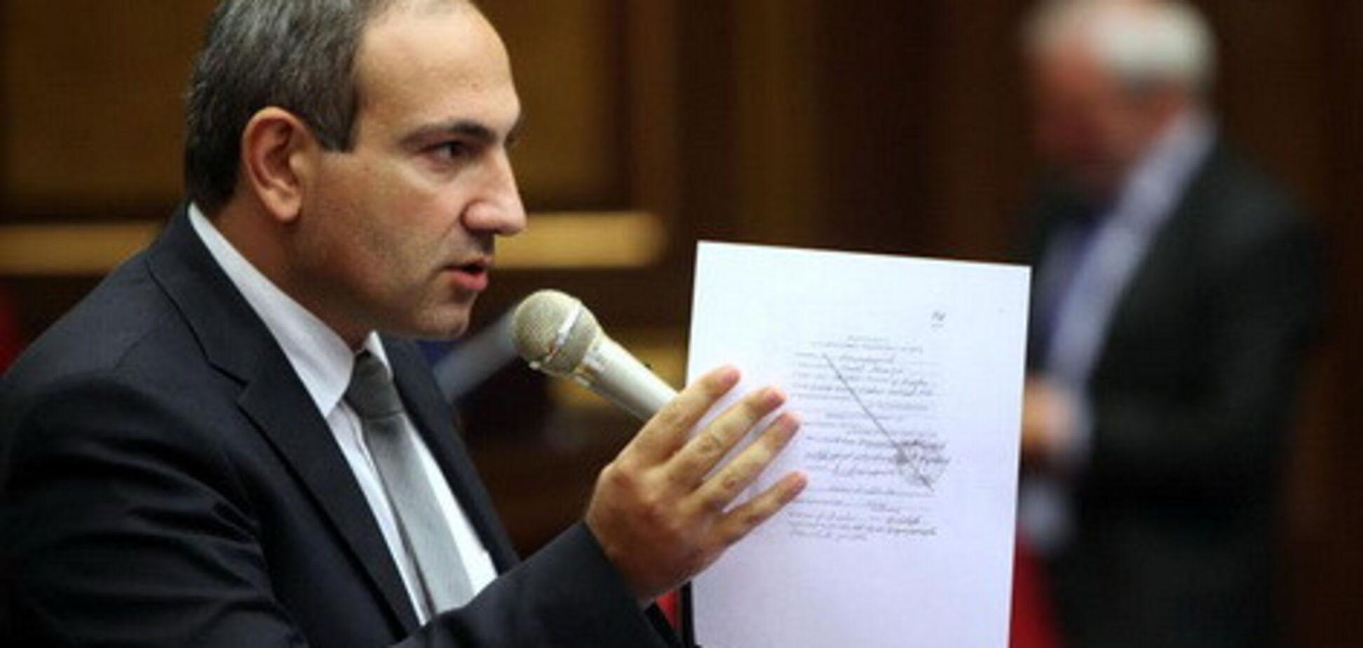В Армении голосовали за нового премьера: стал известен результат