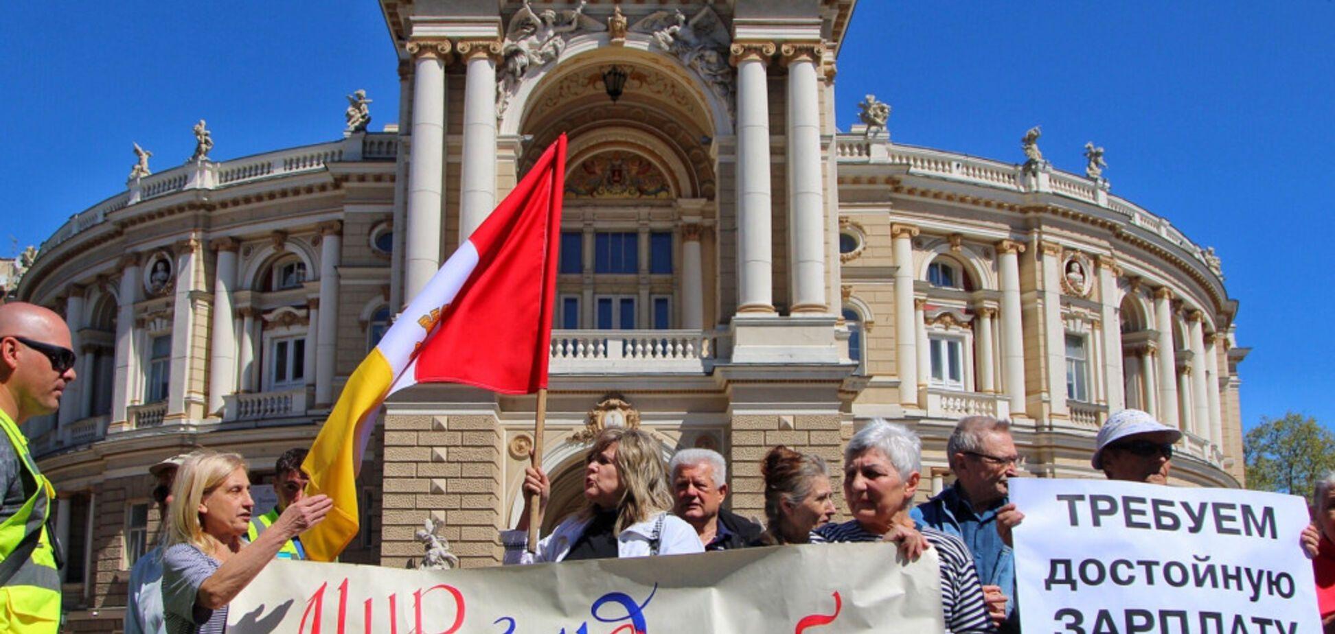 Выставили требования: в Одессе прошел митинг любителей России