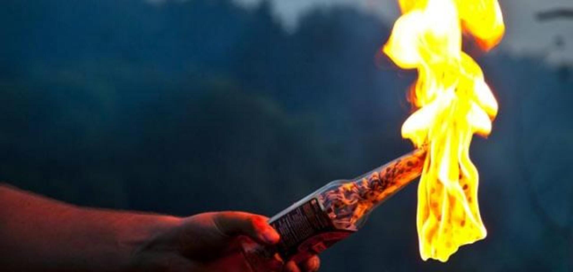 На Харківщині чоловік хотів спалити дітей 'коктейлем Молотова'