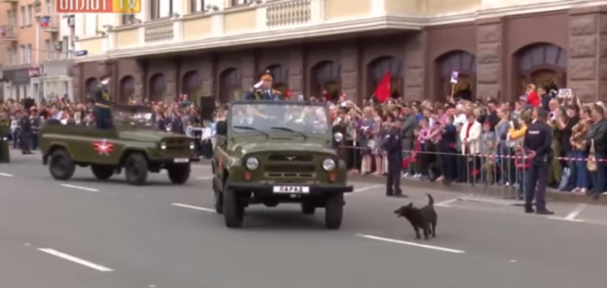 'Рать' ДНР 'була в лютому шоці': блогер розповів, як Хунтік проник на 'парад' терористів