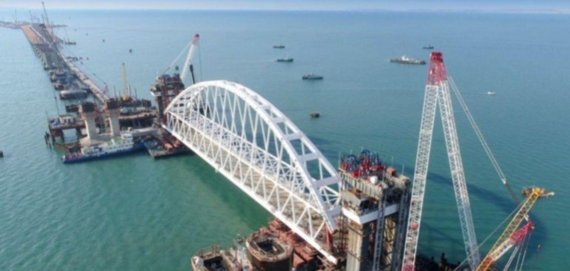 Европу обвинили в помощи Крымскому мосту