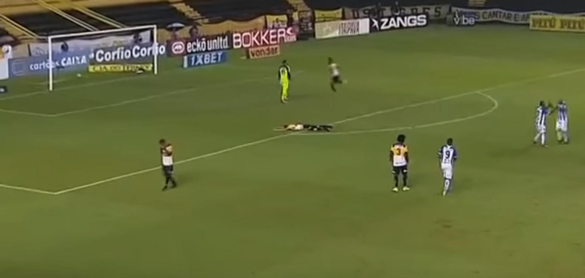 Бразильський футболіст забив космічний автогол дугою