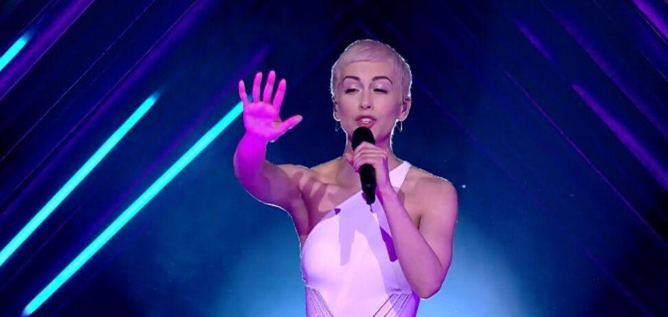 На участницу 'Евровидения' напали в прямом эфире