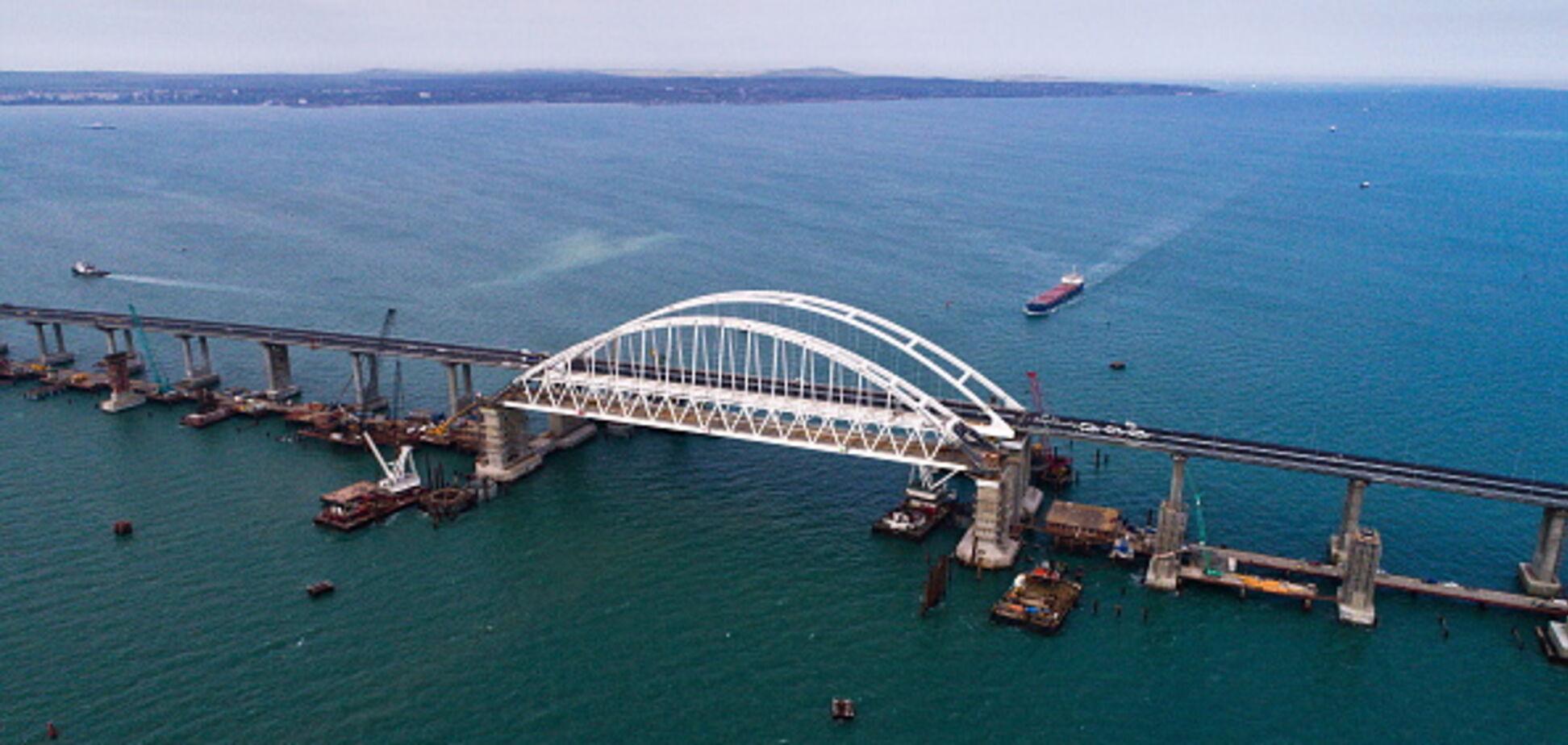 Окупанти запустили частину Кримського моста