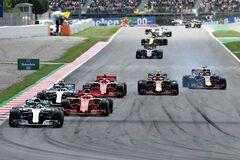 Пилоты Формулы-1 устроили кошмарную аварию на Гран-при Испании