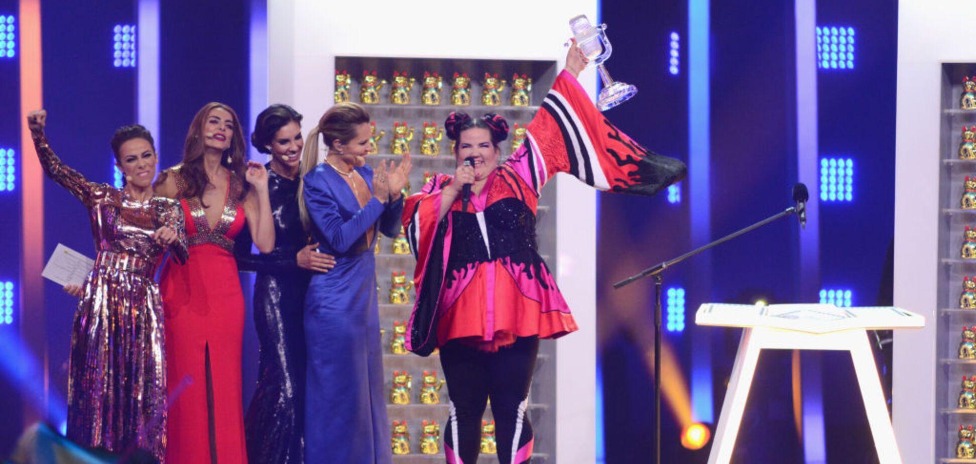 Не удержали: с победительницей 'Евровидения-2018' случился конфуз
