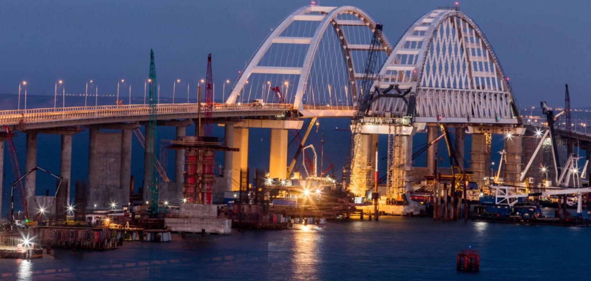 Кримський міст: журналіст назвав два цікавих моменти