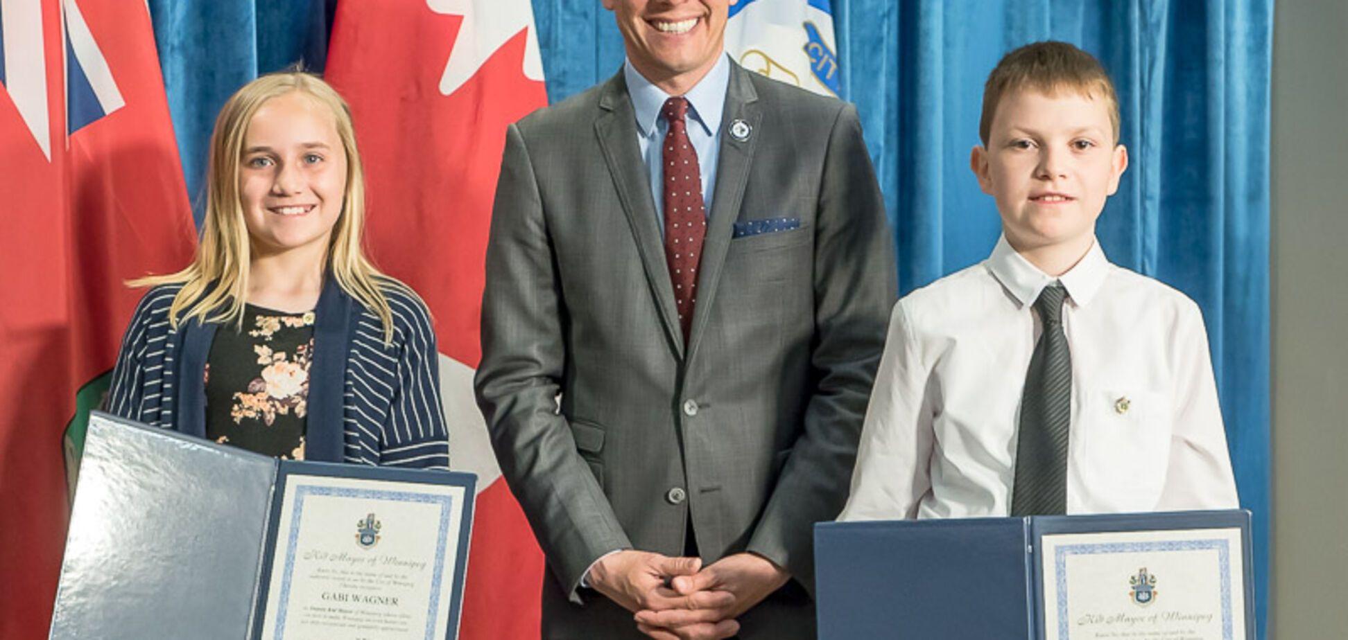Маленький украинец стал мэром в Канаде: фото дарования