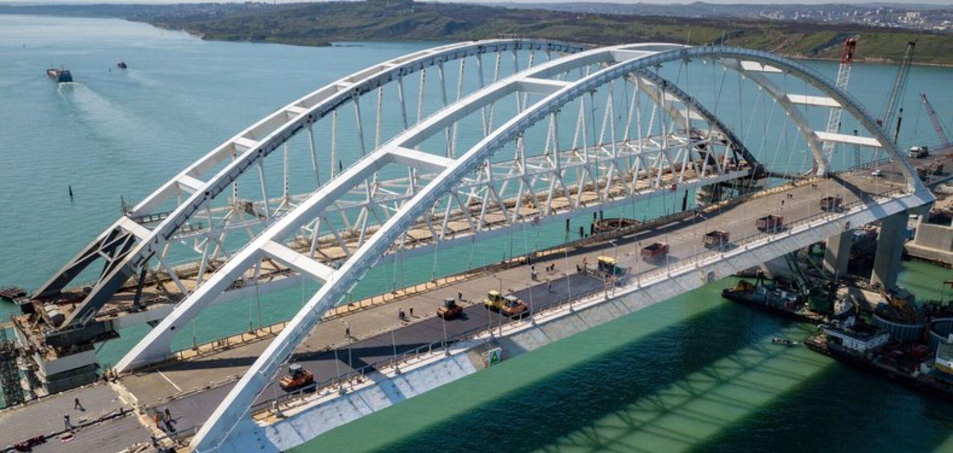 У відкритті Кримського мосту знайшли провину Європи