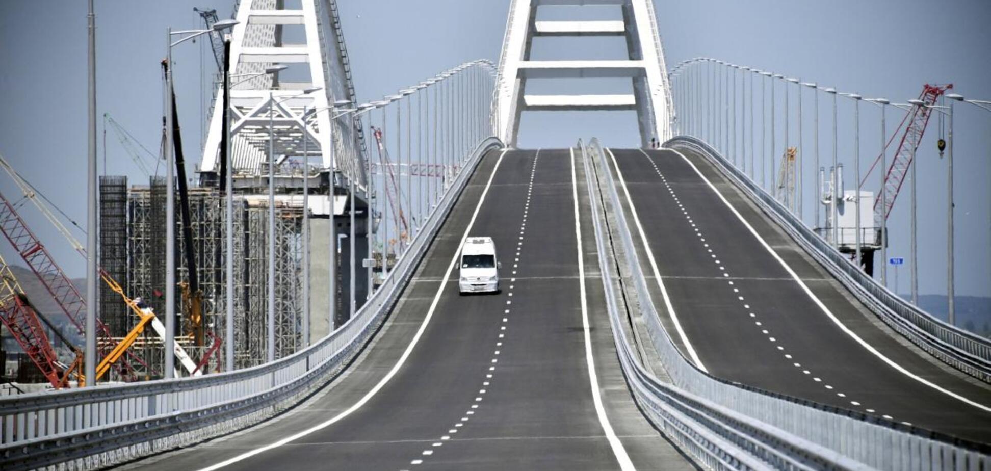 В Україні дали прогноз по Кримському мосту