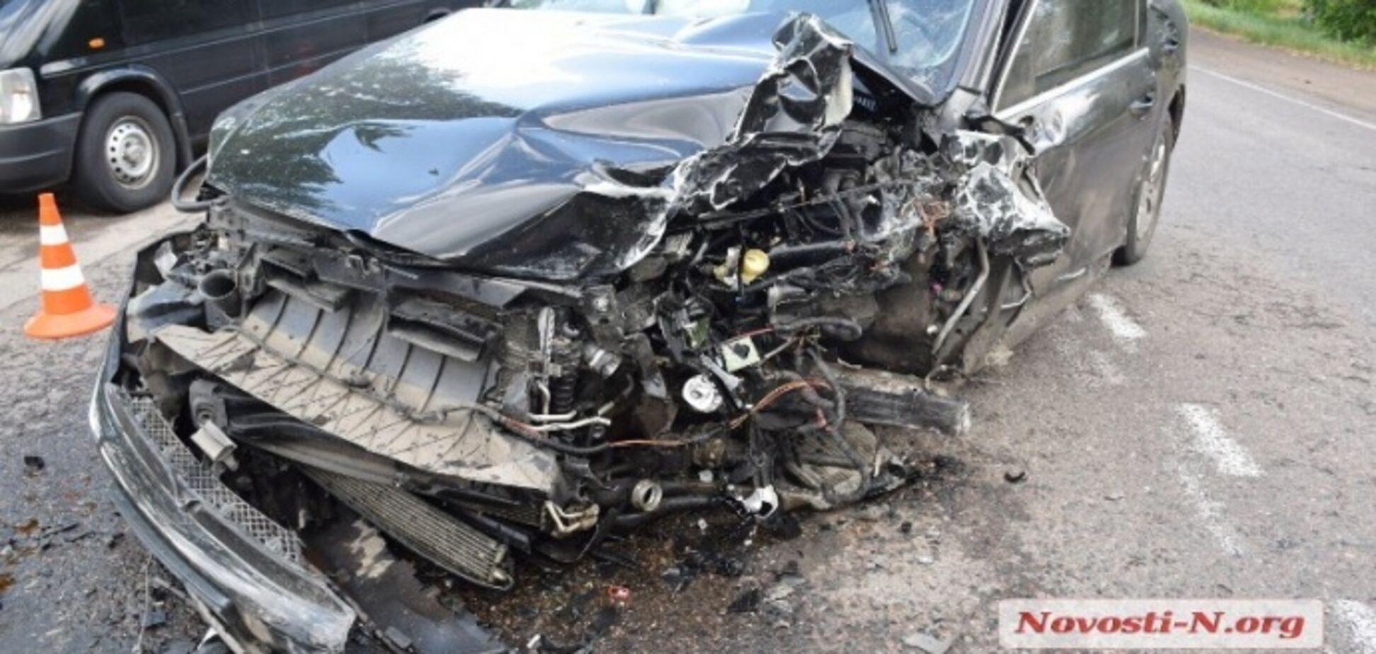 Глава Госпсуду Миколаївської області потрапив в ДТП на незадекларованому авто