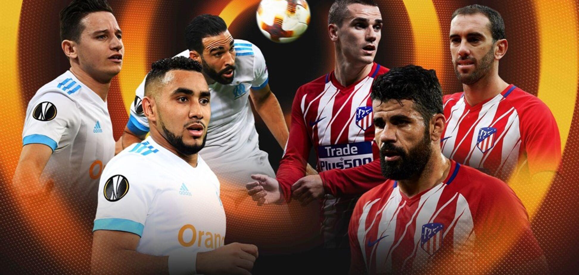 Розпочався другий тайм! Марсель - Атлетико: онлайн-трансляція фінального матчу Ліги Європи