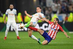 Марсель - Атлетико: видео голов финала Лиги Европы