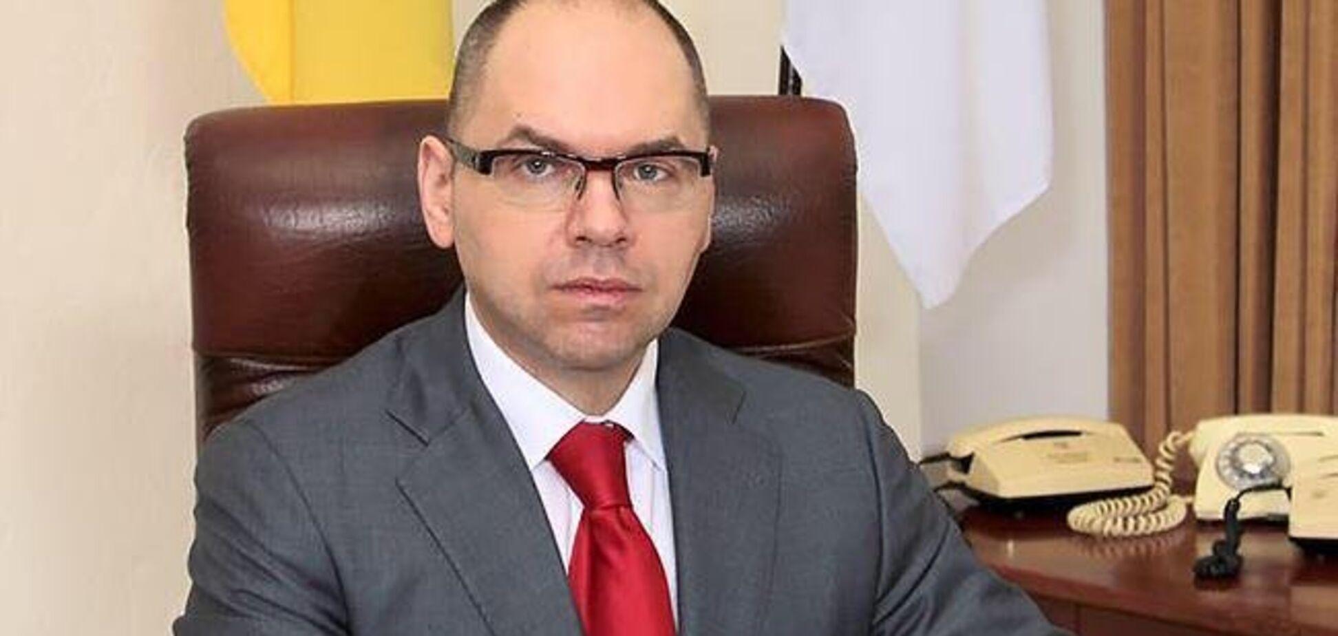 Степанов проверил безопасность в школах Одесской области