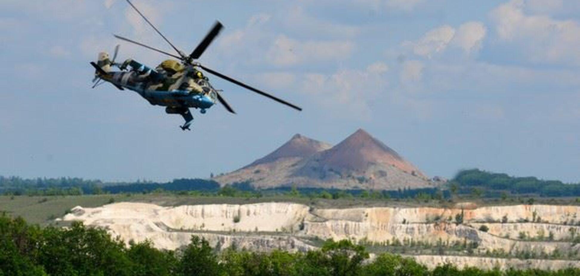 ВСУ на Донбасі відпрацювали авіаудари по терористах: опубліковані фото