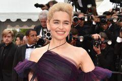 Канны-2018: на шикарное платье Эмилии Кларк ушло 250 часов работы