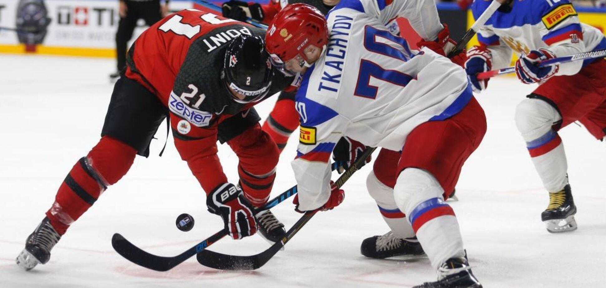 Де дивитися Росія - Канада: розклад трансляцій матчу ЧС-2018 з хокею