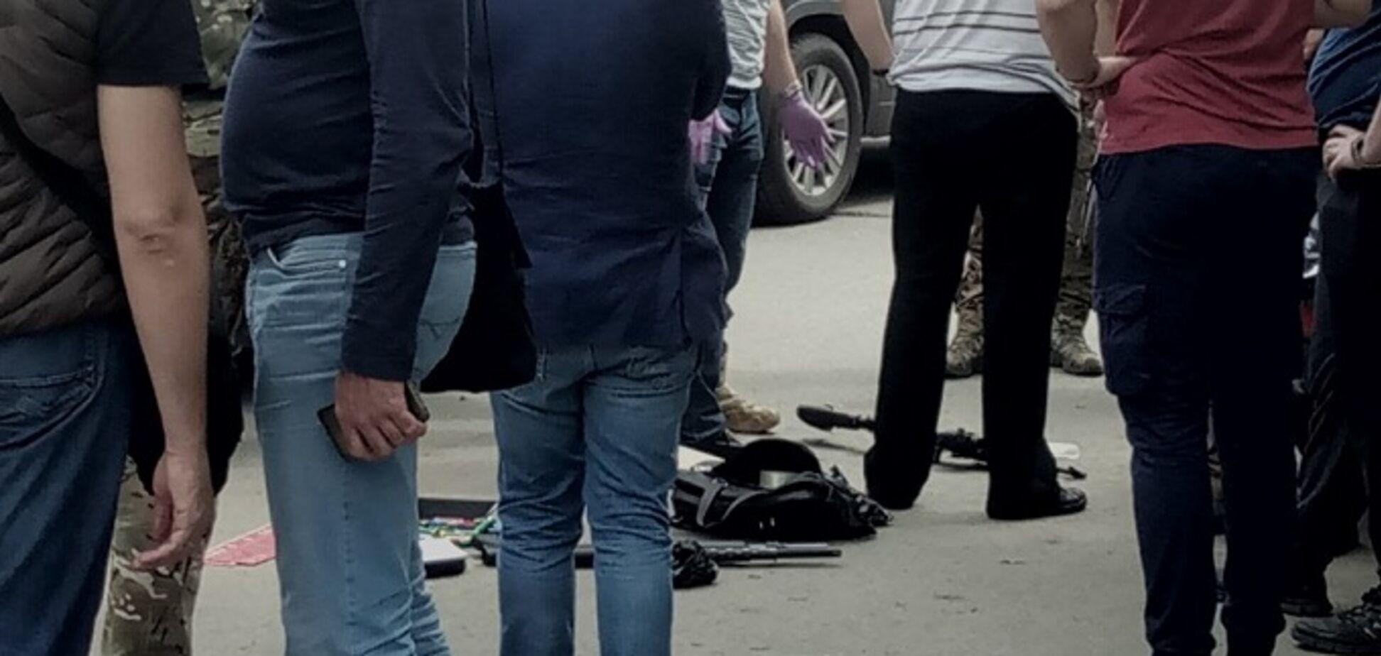 В Харькове задержали криминального авторитета с арсеналом оружия