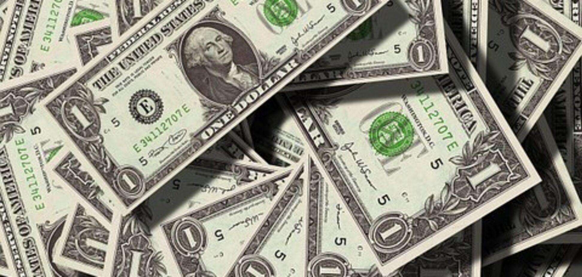 Долар впав в ціні
