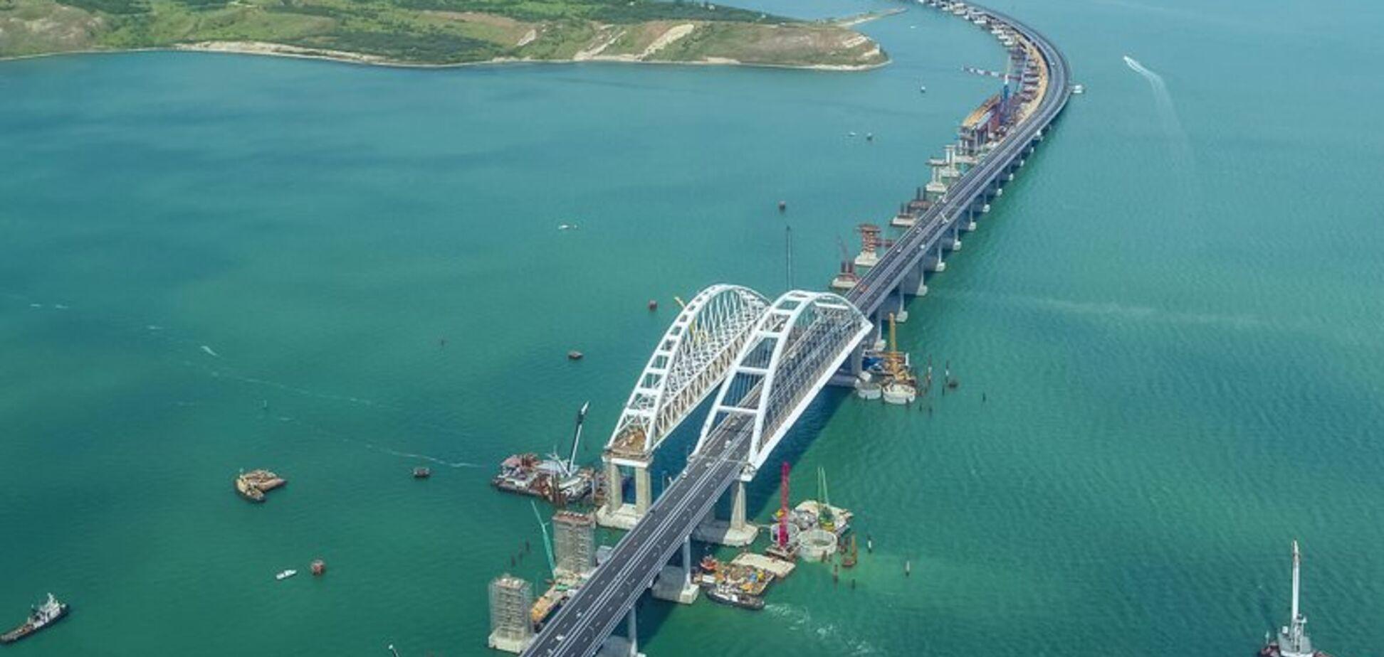 'Строительство без конца': в Украине объяснили, зачем Путину нужен Крымский мост