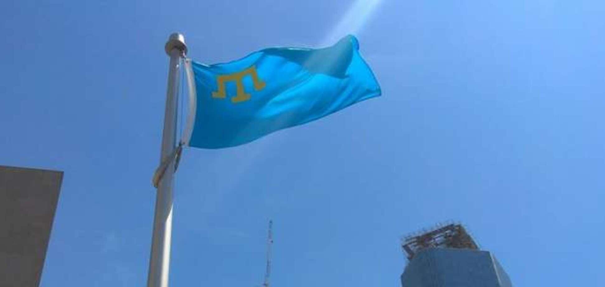 В Торонто подняли флаг крымских татар: видео торжественного момента