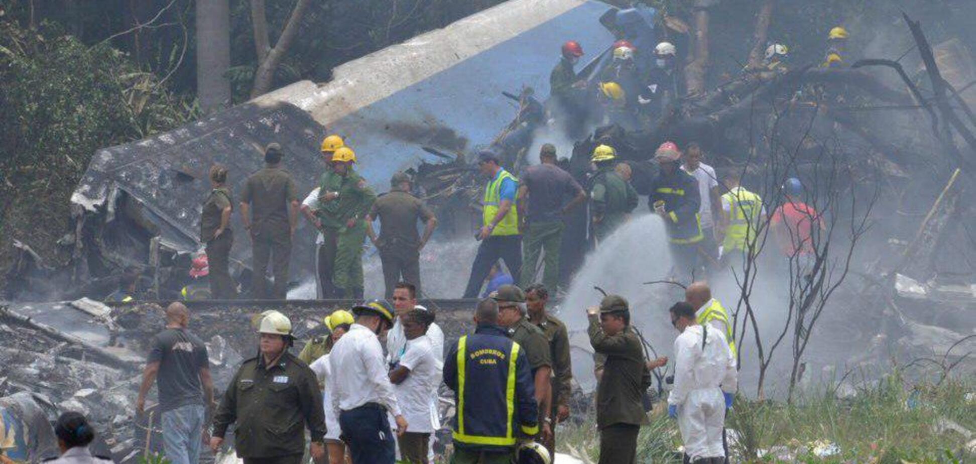 Авіакатастрофа на Кубі: знайдено чорний ящик
