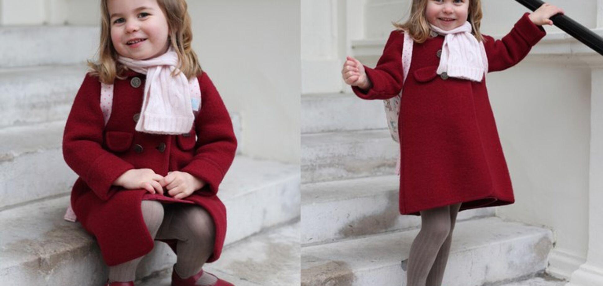 Принцессе Шарлотте исполнилось 3 года
