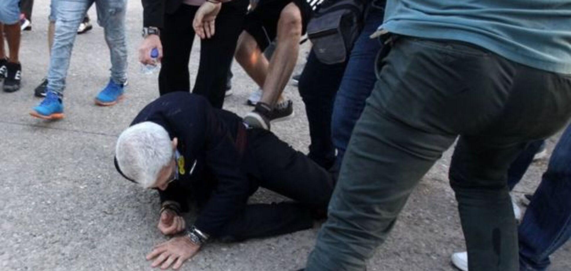 'Это был кошмар': в Греции жестоко избили мэра Салоников
