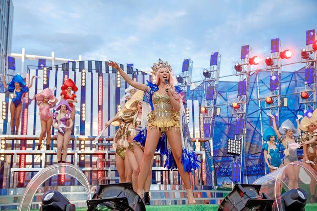 Оля Полякова подняла на уши весь Киев
