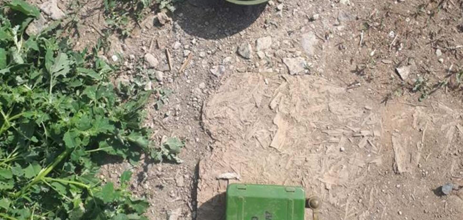 Пограничники нашли российскую мину в зоне ООС