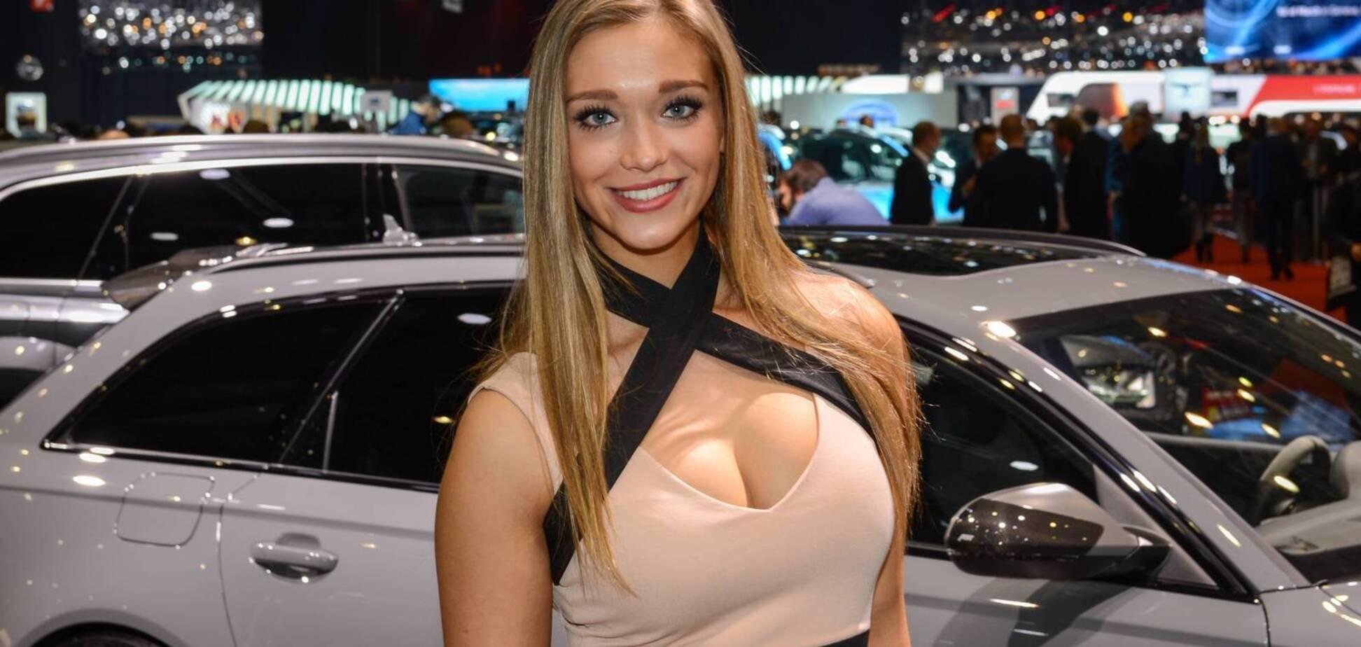 Девушки и тачки: шикарные модели автосалонов