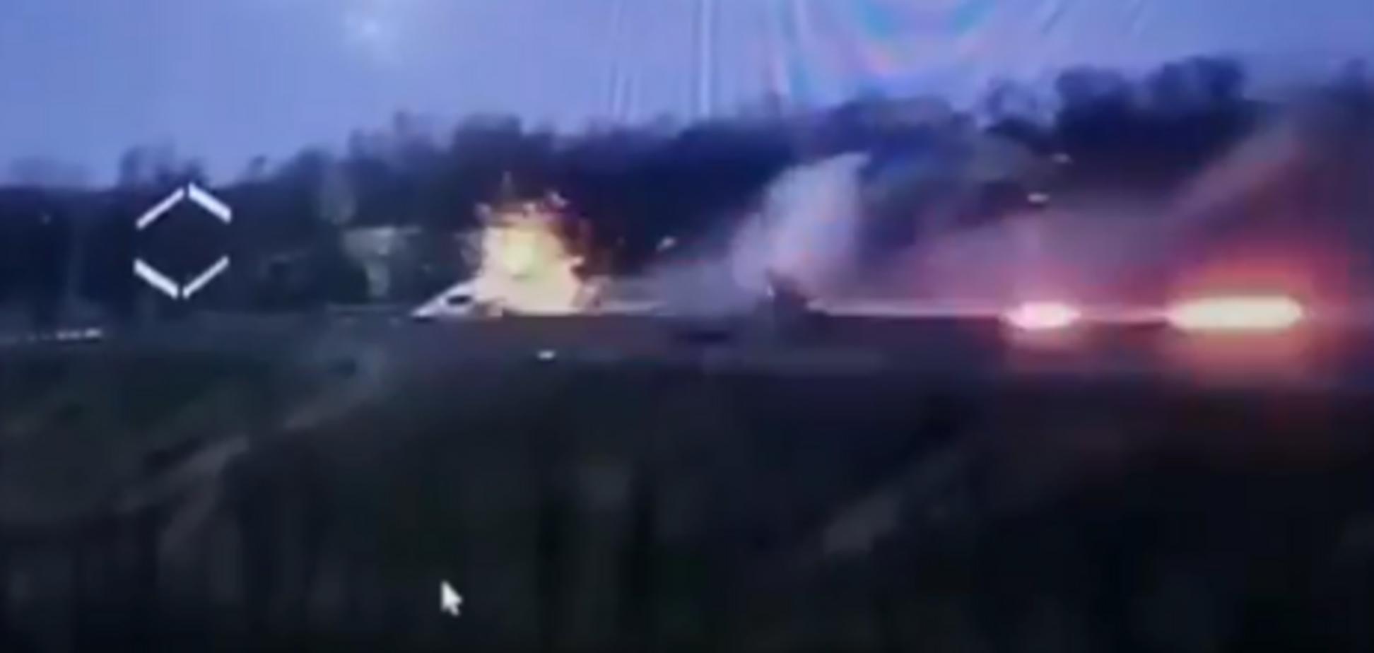 'Приятно смотреть': 'третья сила' на Донбассе уничтожила опорник россиян. Появилось видео