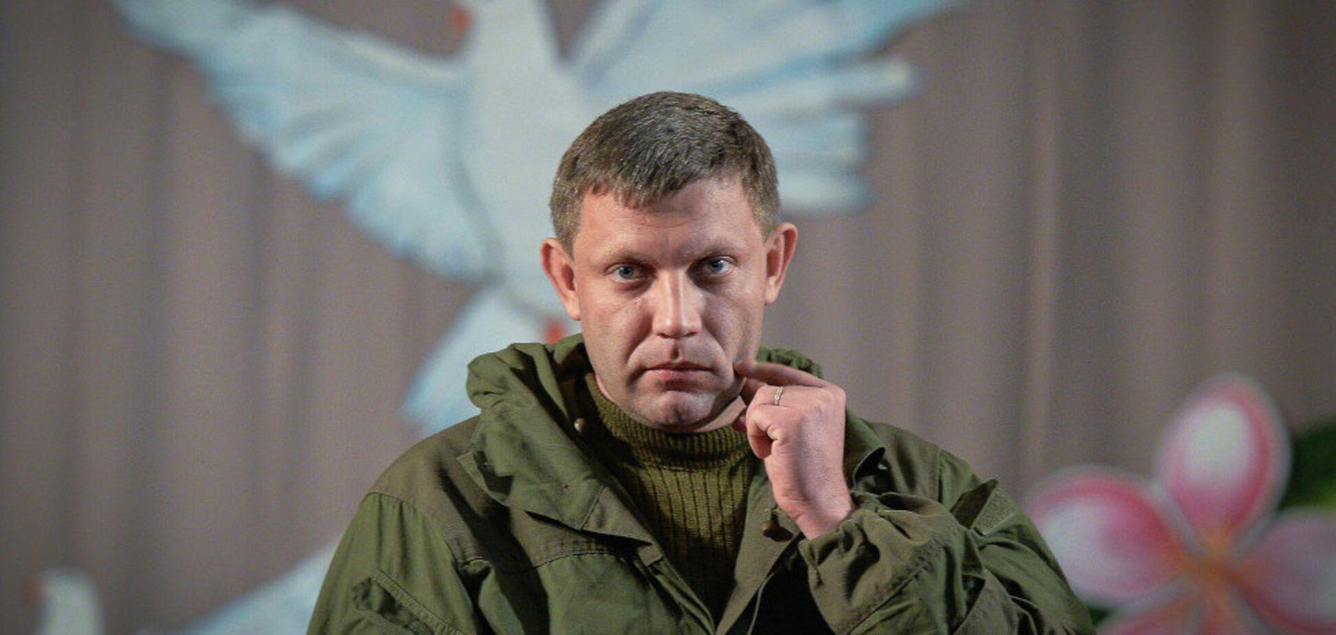 Наказ віддано: Захарченко зібрався знищувати техніку ЗСУ