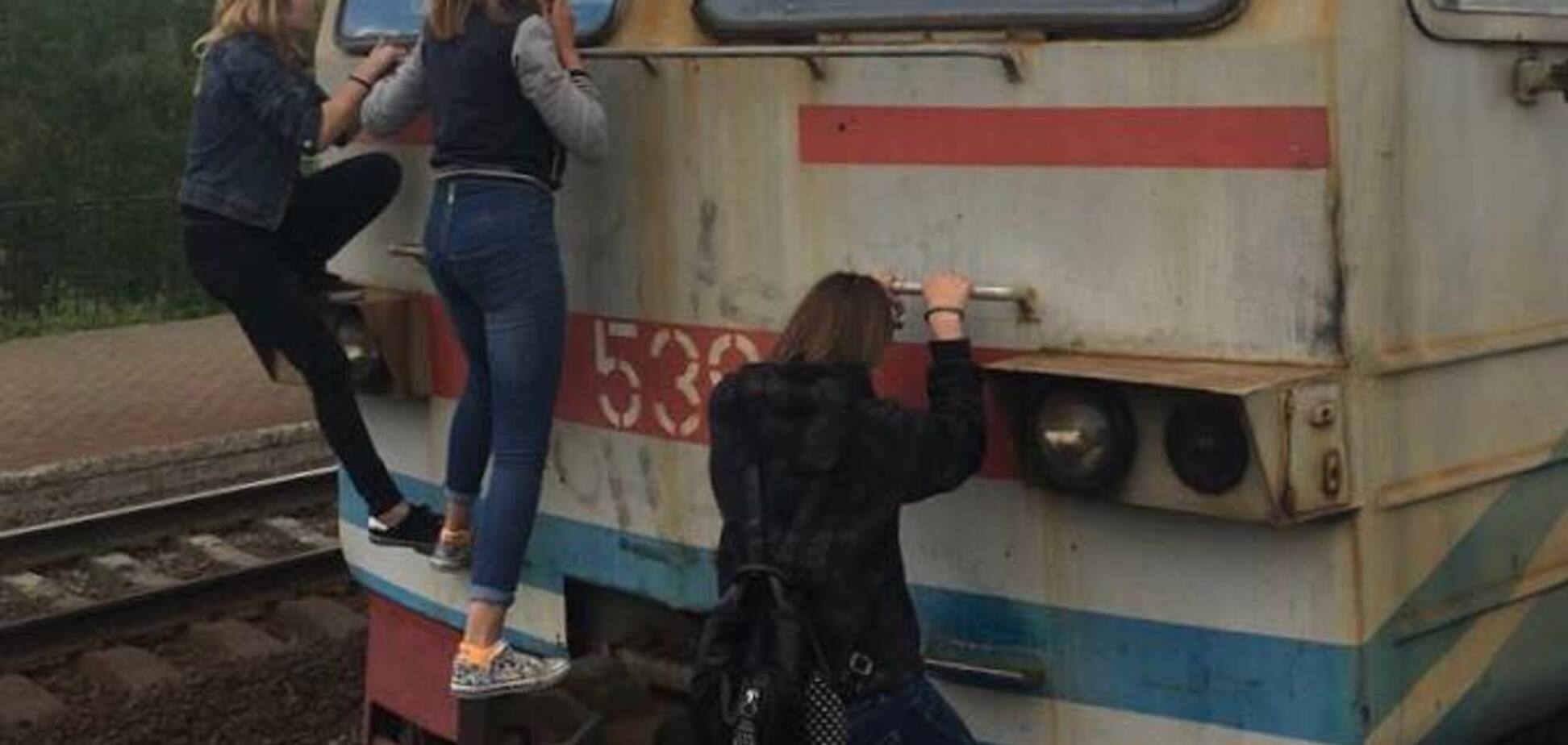 'Дорога в опіковий центр': у Києві підлітки влаштували екстремальні ігри на електричці