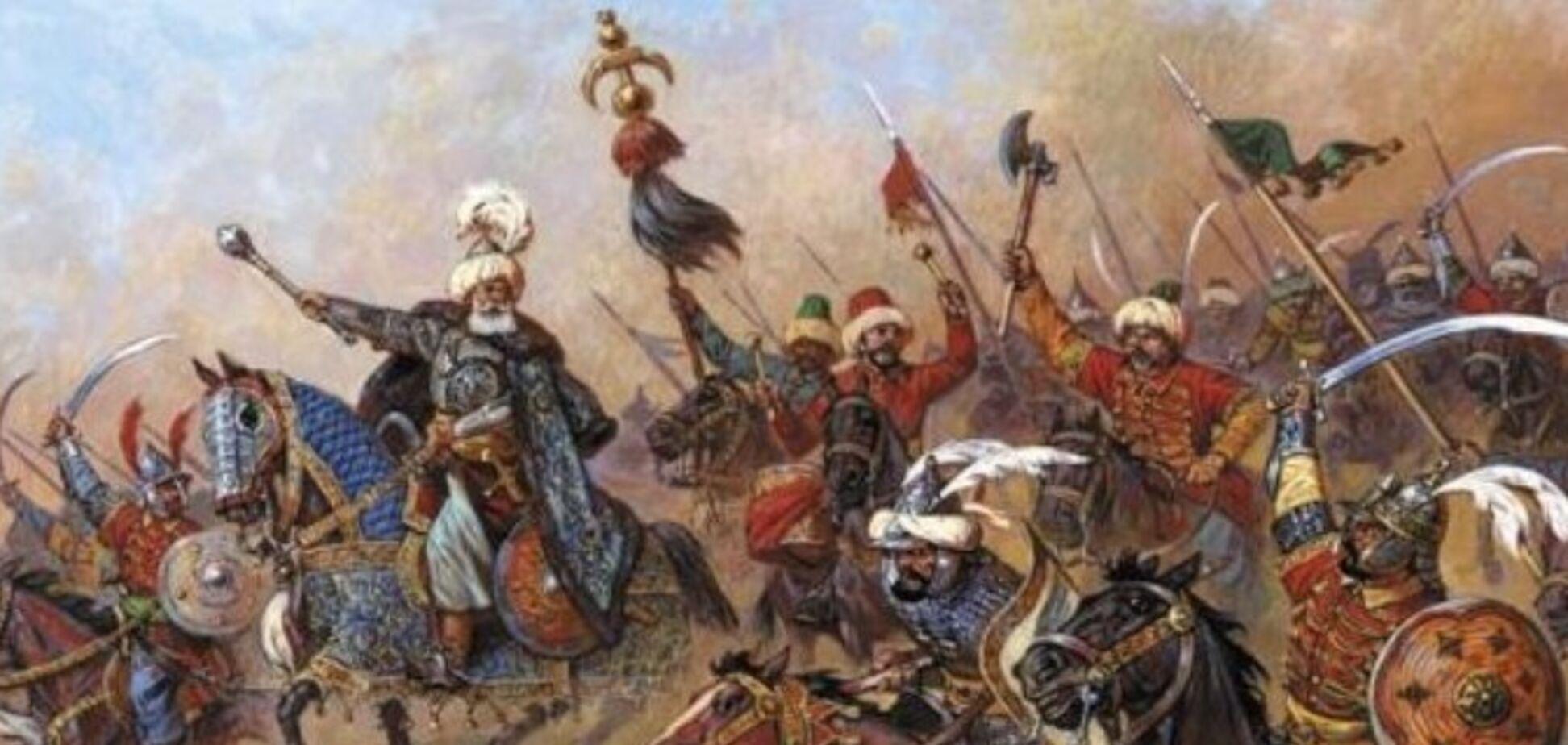 Как украинцы и крымские татары 'наваляли' туркам в Крыму
