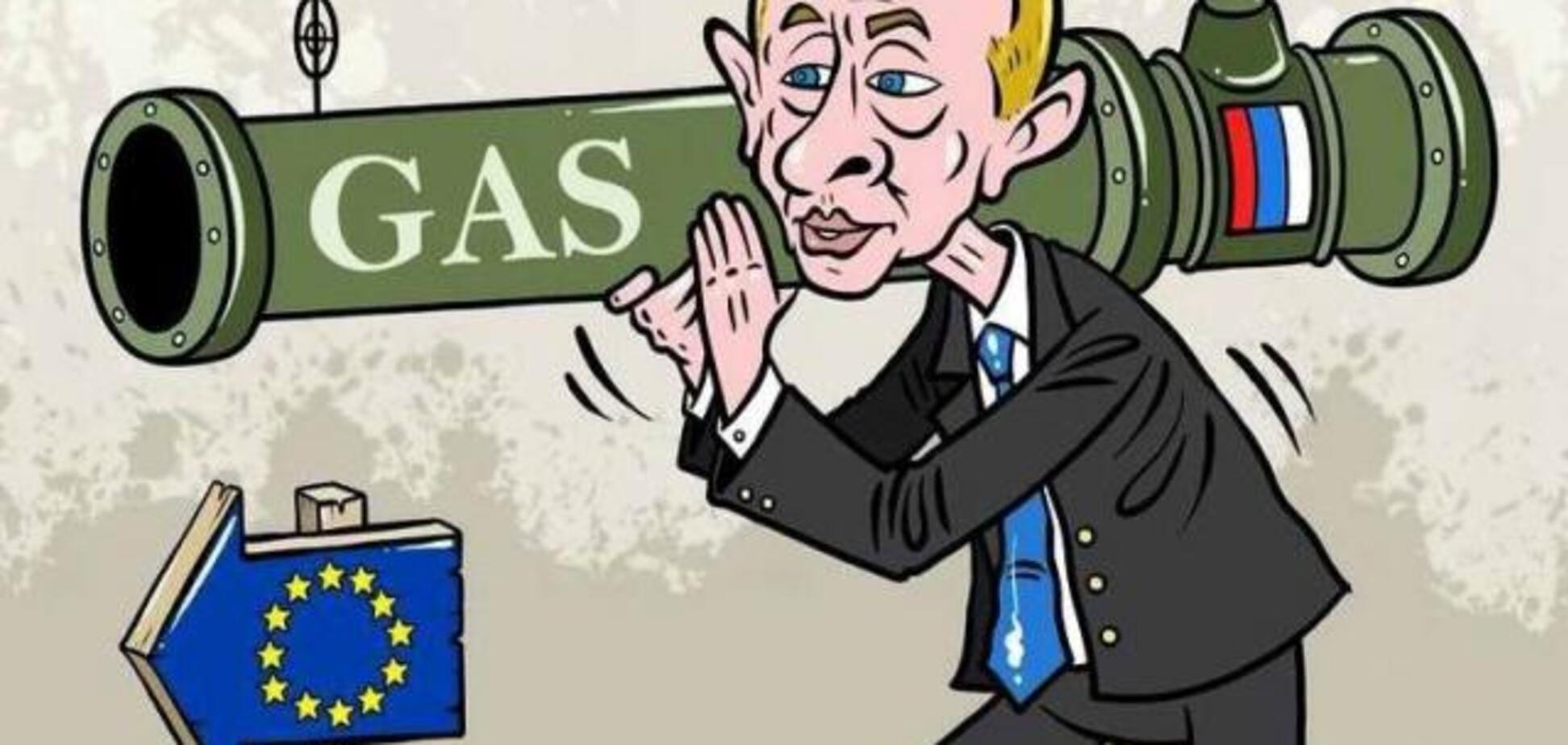 Росія кинула 'газовий виклик' Україні