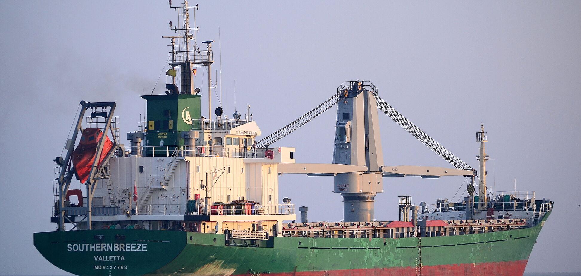 Российские военные задержали возле украинского побережья два судна