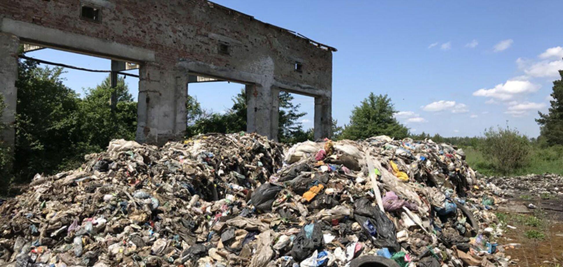 'Вогнище інфекцій': на Житомирщині знайшли сміттєвий 'подарунок' зі Львова