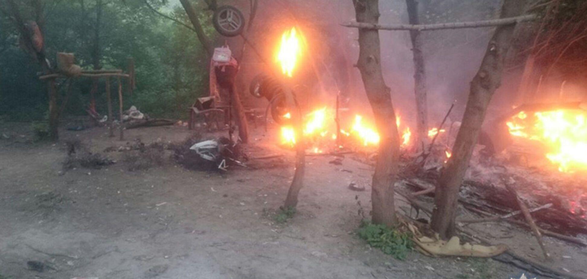Слід радикалів: хто напав на табір ромів у Тернополі