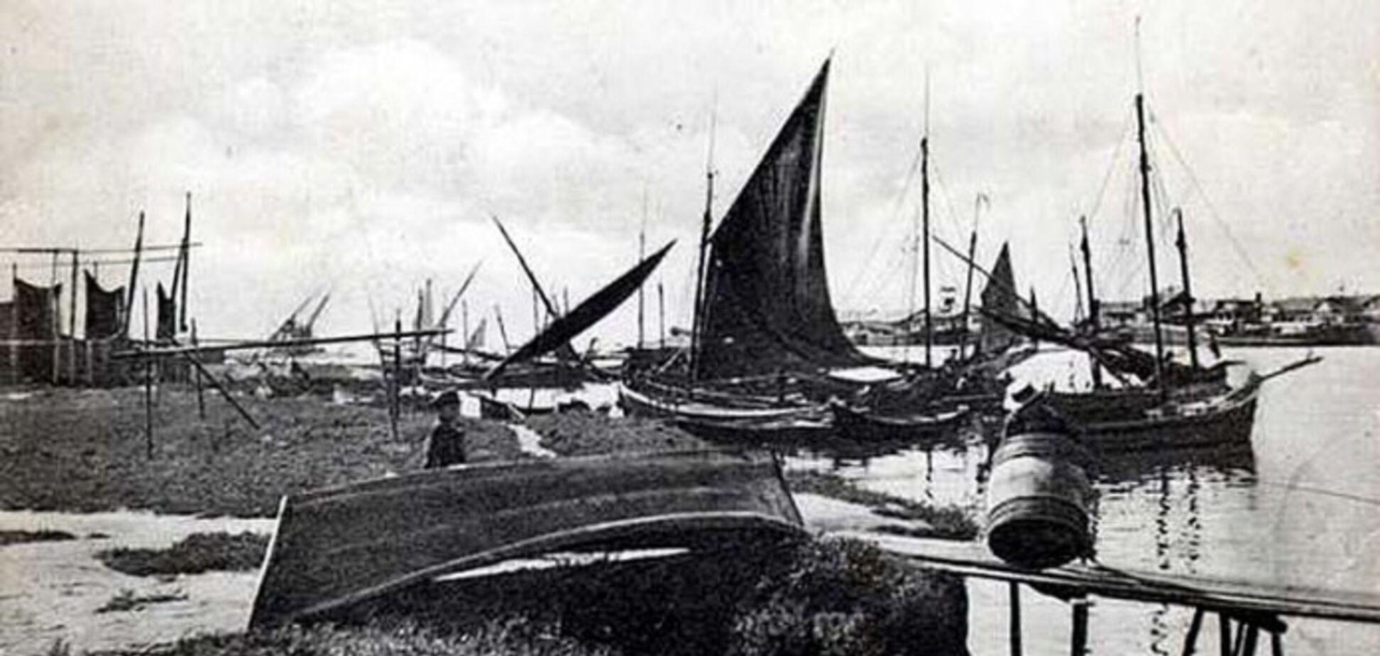 Порт Маріуполя 100 років тому: в мережу потрапили унікальні фото
