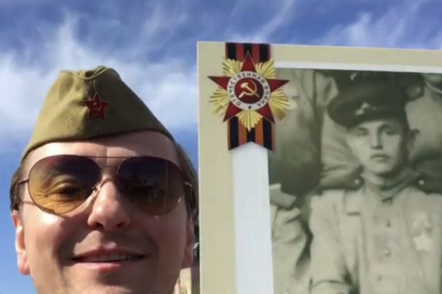 """Орденоносный актер Путина из базы """"Миротворца"""" в 4 раз станет отцом"""